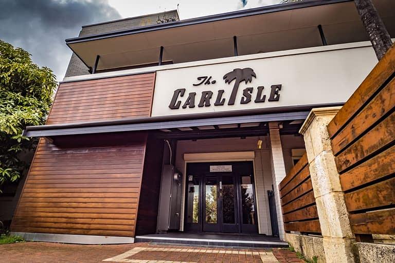 Facade of The Carlisle Hotel & Distillery